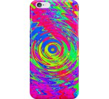 Abstract Psychedelic Ripple Pattern iPhone Case/Skin