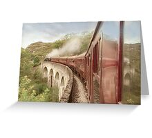 Full steam ahead Greeting Card
