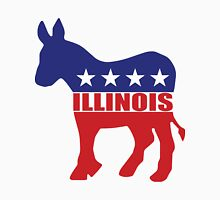 Illinois Democrat Donkey Unisex T-Shirt