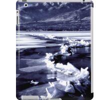 Winter at the Great Salt Lake  iPad Case/Skin