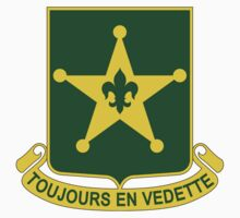387th Military Police Battalion - Toujours En Vedette - Always Alert by VeteranGraphics