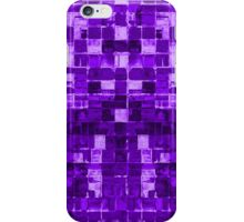 Abstract Purple Squares iPhone Case/Skin