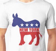 New York Democrat Donkey Unisex T-Shirt
