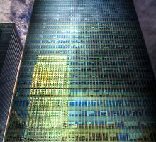 Canary Wharf Reflections by DavidHornchurch