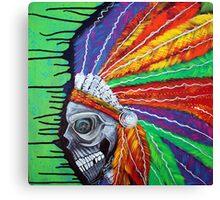 Indian Chief Spirit Canvas Print