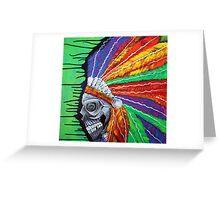 Indian Chief Spirit Greeting Card
