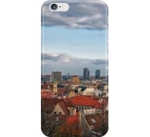 St Martin's Cathedral and Bratislava iPhone Case/Skin