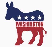 Washington Democrat Donkey Kids Clothes