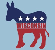 Wisconsin Democrat Donkey Kids Clothes