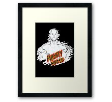Mighty Mouse (D. Johnson) MMA  Framed Print