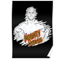 Mighty Mouse (D. Johnson) MMA  Poster