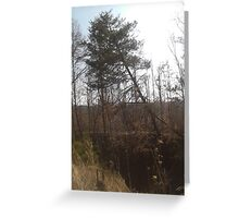 Lean on me  Greeting Card