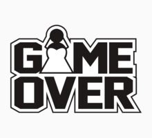 Game Over - Wedding Kids Clothes