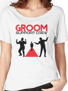 Groom Support Crew Women's Relaxed Fit T-Shirt