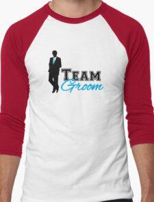 Team Groom Men's Baseball ¾ T-Shirt
