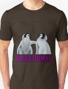 Penguin smoking blunt Beige Pumas Graphic T-Shirt