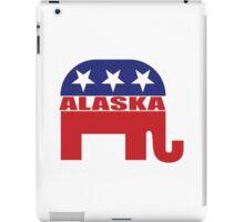 Alaska Republican Elephant iPad Case/Skin