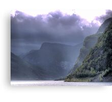 Raining on the Sagastol   ( 1 ) Canvas Print