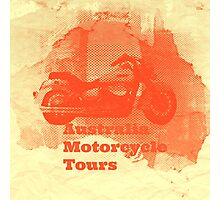 motorcycle tours Photographic Print
