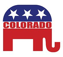 Colorado Republican Elephant by Republican