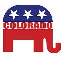 Colorado Republican Elephant by Republican