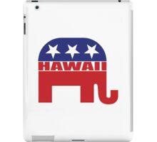 Hawaii Republican Elephant iPad Case/Skin