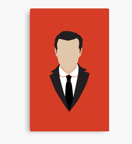 3 Jim Moriarty Canvas Print