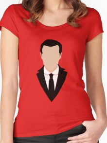3 Jim Moriarty Women's Fitted Scoop T-Shirt