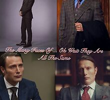 Many Faces Of Hannibal by sam2277
