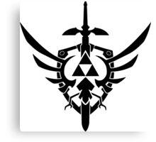 Legend Of Zelda Tri-force Canvas Print