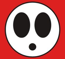 Shy Guy Mask by timnock