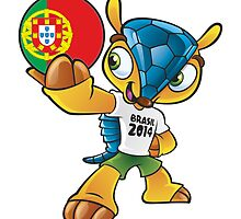 World cup mascot love portugal by miky90