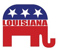 Louisiana Republican Elephant by Republican