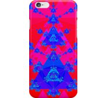 Psychedelic Triangle Fractal iPhone Case/Skin