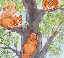 Squirrel Games by Carole Chapla