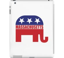 Massachusetts Republican Elephant iPad Case/Skin