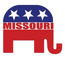Missouri Republican Elephant by Republican