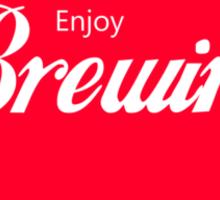 Enjoy Brewing Sticker