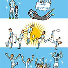 World Cup ARGENTINA 2014 by colortown