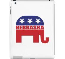 Nebraska Republican Elephant iPad Case/Skin