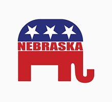 Nebraska Republican Elephant Unisex T-Shirt
