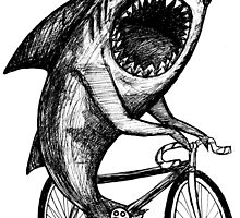 Shark Ride Bicycle  by toshibung