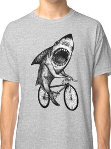 Shark Ride Bicycle  Classic T-Shirt