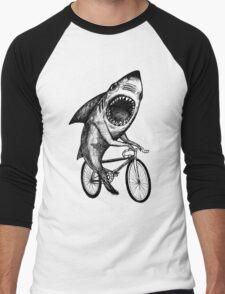 Shark Ride Bicycle  Men's Baseball ¾ T-Shirt