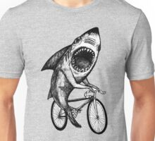 Shark Ride Bicycle  Unisex T-Shirt