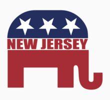 New Jersey Republican Elephant T-Shirt