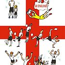 World Cup ENGLAND 2014 by colortown