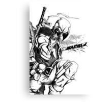 Weapon XI Canvas Print