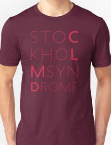 CLMD - The Stockholm Syndrome Coral Typography T-Shirt