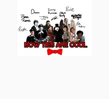 Bow Ties Are Cool T-Shirt (White) Unisex T-Shirt